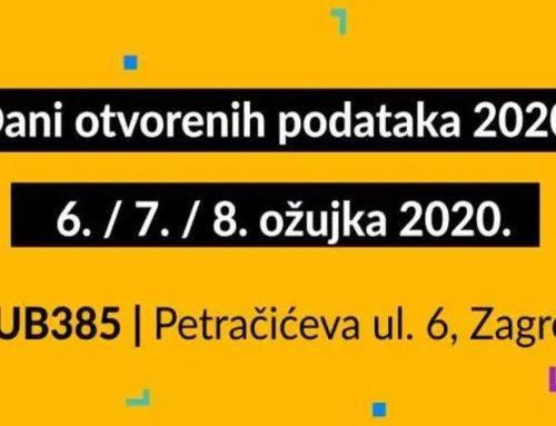 """Konferencija """"Dani otvorenih podataka 2020."""""""